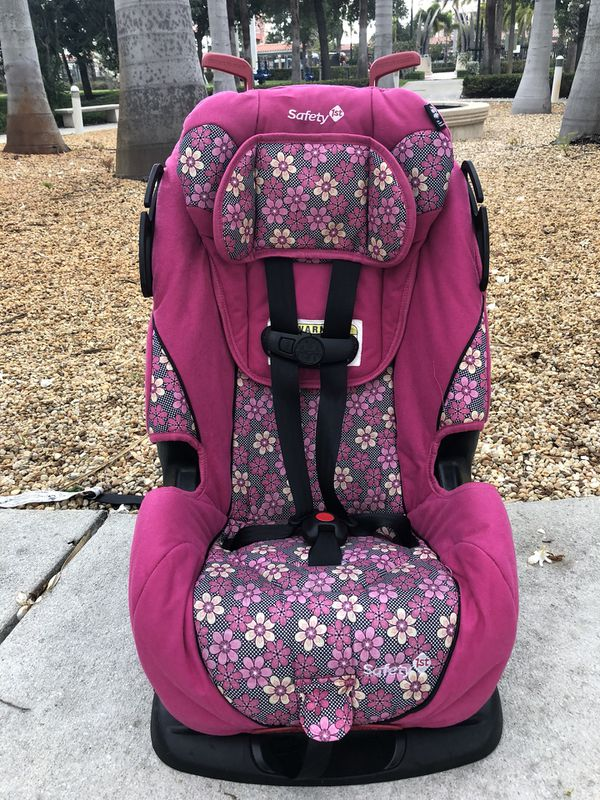 Pink Safety 1st All in One Convertible Car Seat 5-80lbs (Baby & Kids ...