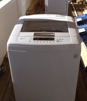 LG sense a load washer and dryer