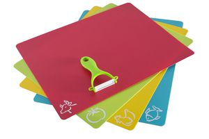 Big opportunity, Flexible Cutting Boards Set of 4, Only $14,99