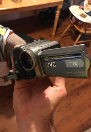 JVC camcorder in original box