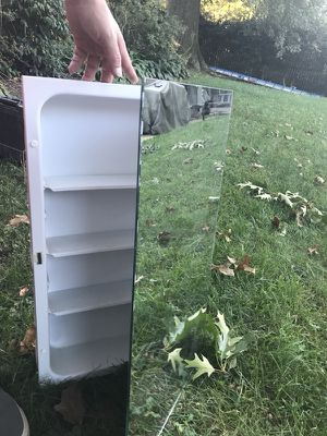 For Sell four Wall Mounted mirror Cabinets.