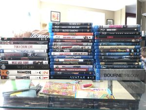 50+ used BD/DVDs