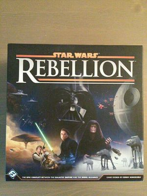 Star Wars board game Rebellion