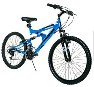 "Bicycle - Men's 24"" Coablt Blue Magna Outreach 21Speed Full"