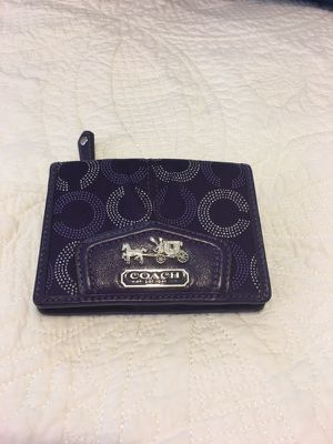 Authentic coach small wallet. Ocoee pickup only