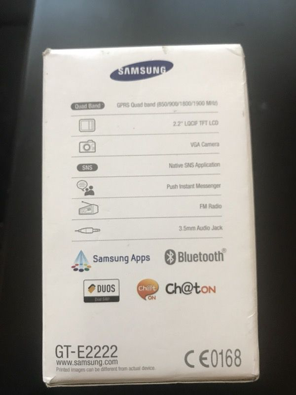 Brand new factory unlocked Samsung Dous #E2222