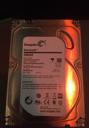"""Seagate 3.5"""" 3tb HDD"""