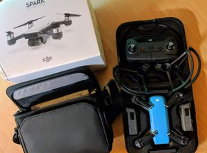 BRAND NEW /NEVER FLOWN ~ DJI Spark Drone +Fly More Official Bundle 4k
