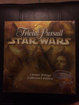 Star Wars trilogy trivial pursuit new