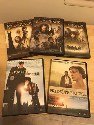 Several DVDs for $5