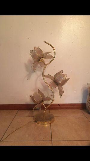Vintage rose gold lamp