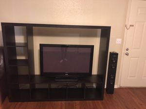 "Selling entertainment center and 42""tv"