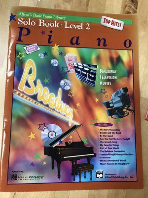 Piano music Alfred's Solo Book level 2