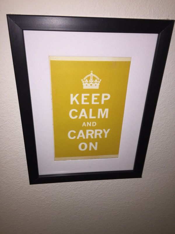 Awesome Keep Calm And Carry On Wall Art Pictures - All About Wallart ...