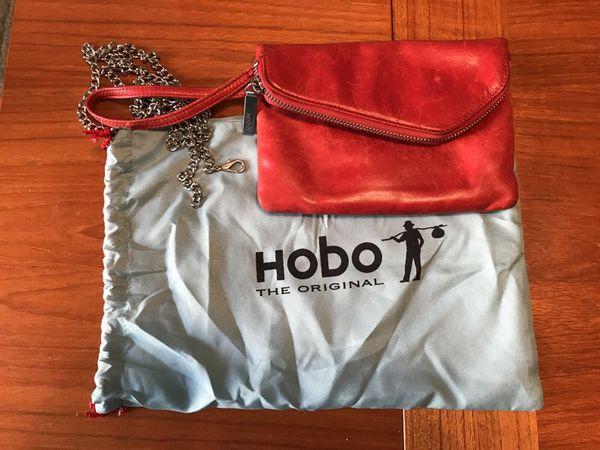 Hobo Red Clutch/Crossbody