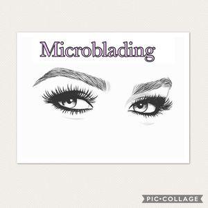 eyebrow makeup/ m&croblading