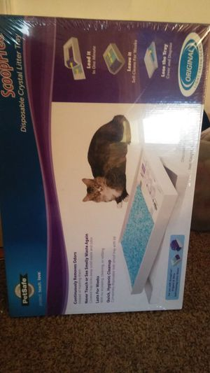 ScoopFree disposable litter tray