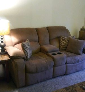 Reclining love seat and sofa. Cannot deliver. Second floor. Call {contact info removed}
