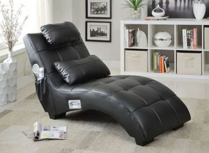 SPEAKER AND BLUETOOTH CHAISE BLACK
