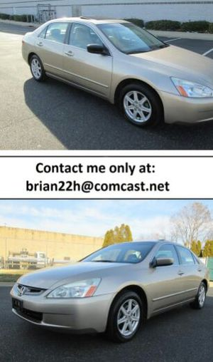 Nice car for family Well maintained HONDA ACCORD EX-L V6- Clean title. low miles (106k), automatic transmission