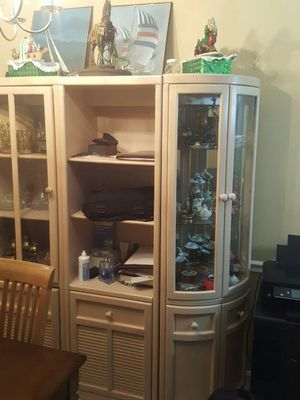 China cabinet. 4 pice All is good shape