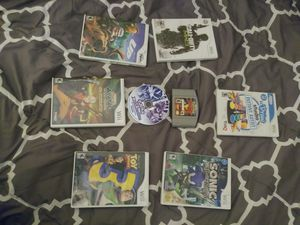 Wii games and game pak