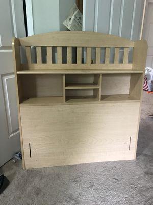 Twin bed headboard