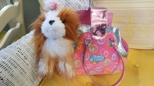 Pucci Pups Pink Bag and Pucco Puppy $10