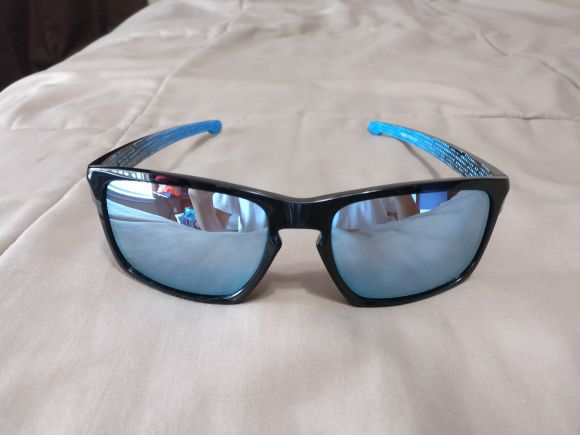 oakley holbrook polarized prizm deep water