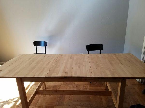 IKEA Norden Idolf Dining Set Furniture In San Mateo CA OfferUp