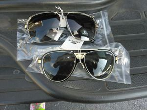 LV and lacoste sunglasses