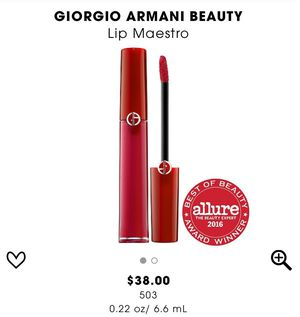 New Giorgio armani liquid matte lipstick