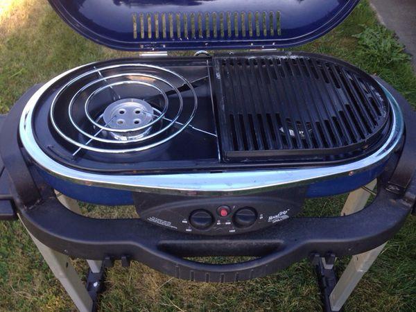 Coleman road trip portable grill propane furniture in