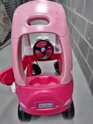 PINK CAR FOR BABY GIRL