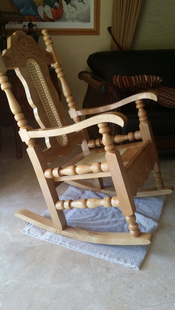 Cuban Style Rocking Chair Furniture In Miami Fl Offerup