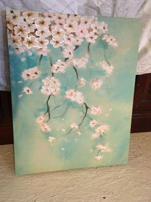 Oriental Floral Print