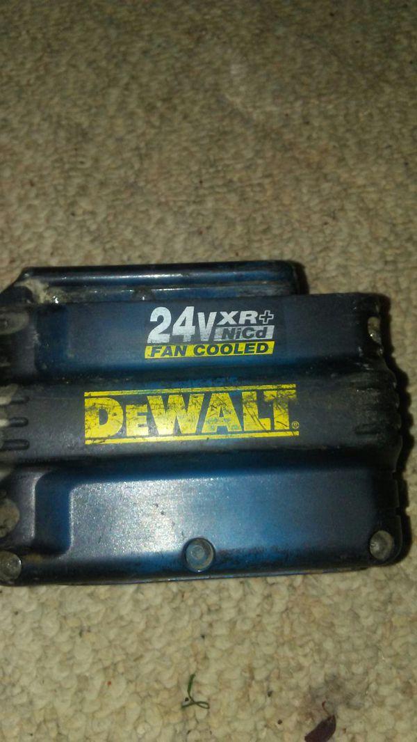 dewalt 24v xr nicd fan cooled tools machinery in newark oh