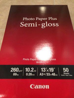 Canon Photo Paper Plus Semi-Gloss 13x19 New