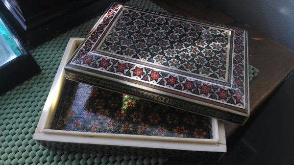 Persian Khatam Box