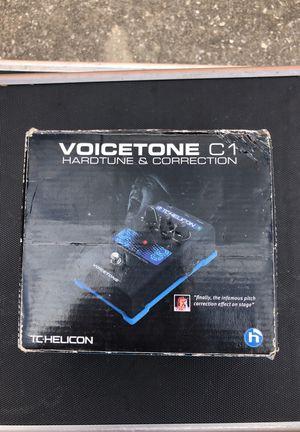 Tc-helicon voicetone c1 auto tune