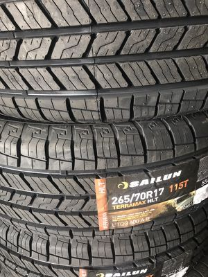 2657017 new tires set