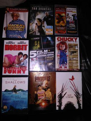 DVD movies 1$ each