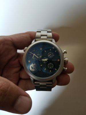 HOLIDAY SALE PRICE!!!Diesall Brave' over size watch. Limited edition blue face. $200 or best offer