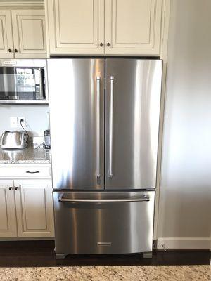 Kitchenaid 3 door French door refrigerator