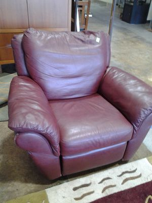 Leather Rocker / Recliners - Two