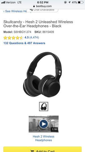 Wireless Skullcandy Headphones