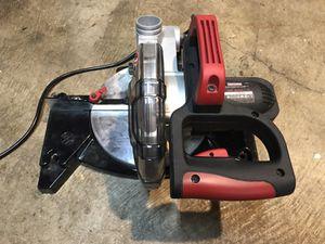 "Craftsman 7"" miter saw with laser"
