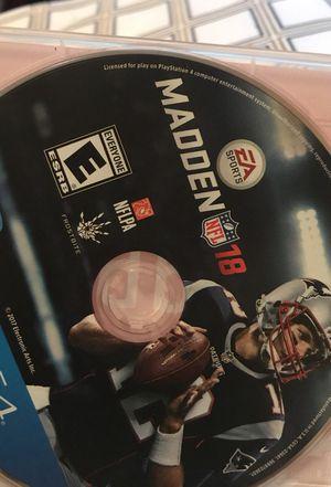 Madden 18 PS4