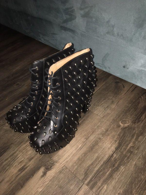 Women's Skull Boots