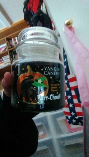 Yankee candle purr-chouli